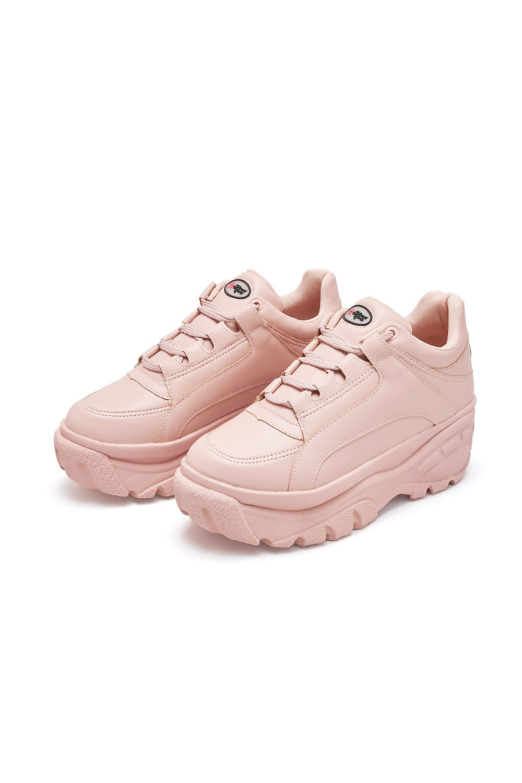 Tenis bufalo planet girls rosa claro 34